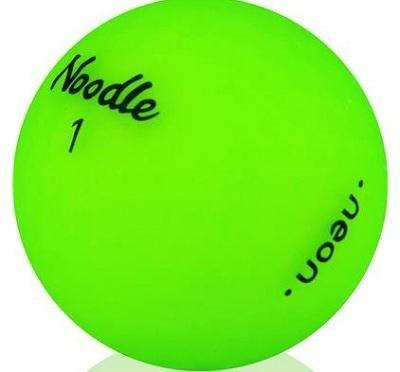 2019 Noodle Neon Matte Lime - Golf Balls Direct