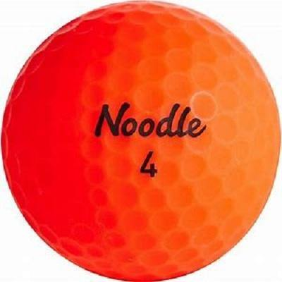 2019 Noodle Neon Matte Orange - Golf Balls Direct