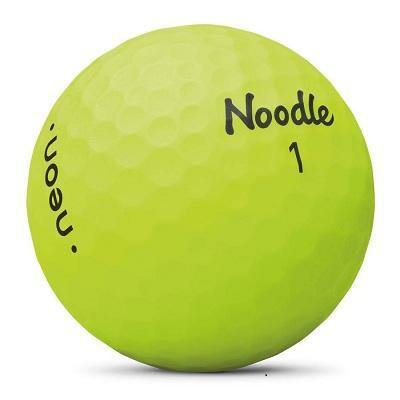 2019 Noodle Neon Matte Yellow - Golf Balls Direct