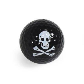 "New ""Pirate"" Novelty Golf Balls (3 pack) - Golf Balls Direct"