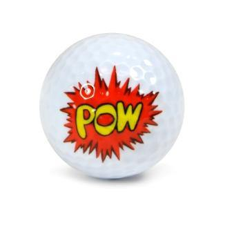 "New ""Pow Pow"" Golf Ball - Golf Balls Direct"