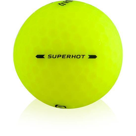 2020 Callaway SuperHot Matte Yellow - Golf Balls Direct