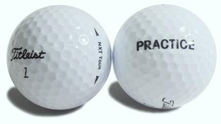 New Titleist NXT Tour Practice (logo Overruns) - Golf Balls Direct