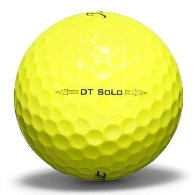 Titleist DT SoLo Yellow - Golf Balls Direct