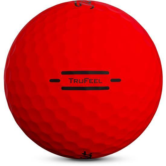 2020 Titleist TruFeel Matte Red