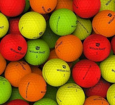 2018 Wilson Duo Soft Matte Color Mix - Golf Balls Direct