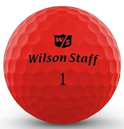 2018-19 Wilson Duo Soft Matte Red - Golf Balls Direct