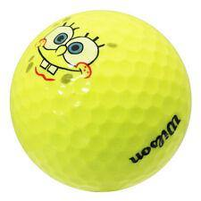 Wilson SpongeBob Squarepants Yellow - Golf Balls Direct
