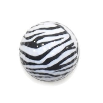 "New ""Zebra"" Novelty Golf Balls (3 pack) - Golf Balls Direct"