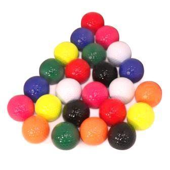 New Putt Putt Assorted Color Mix of Golf Balls (300 Count)