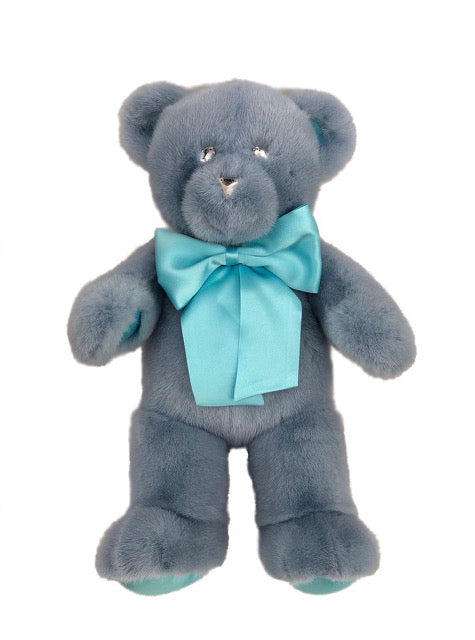 BABY BLUE MINK TEDDY BEAR SMALL