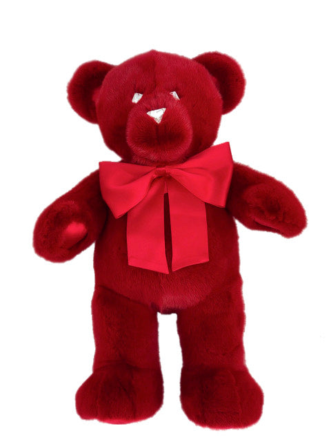 RED MINK TEDDY BEAR LARGE