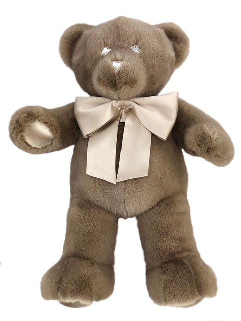 PASTEL MINK TEDDY BEAR LARGE