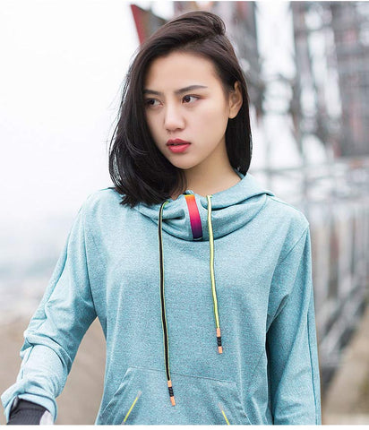 Nylon Polyester Running Gym Hoodies - Wearmeal