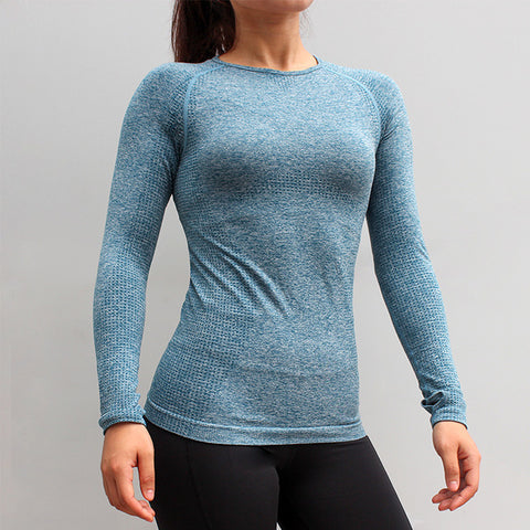 High Elastic Slim Workout Shirt - Wearmeal
