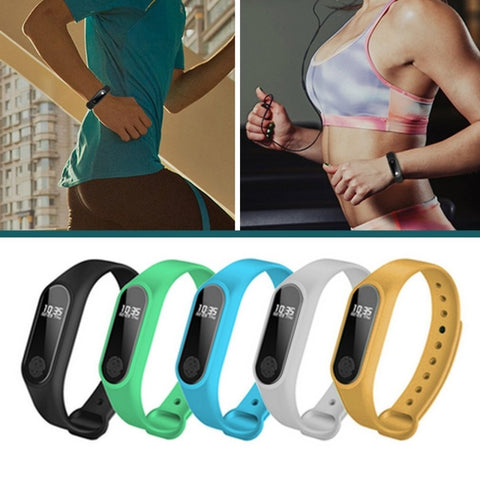 TPU+TPE Pedometers Fitness Wristband - Wearmeal