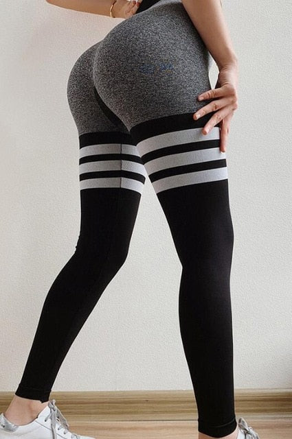 High Waist Push Up Seamless Leggings - Wearmeal