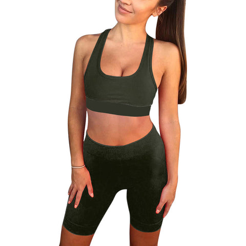 Gym Workout High Waist Yoga Set - Wearmeal