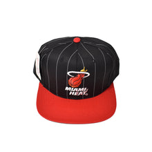 Load image into Gallery viewer, Vintage Miami Heat Starter Snapback Hat