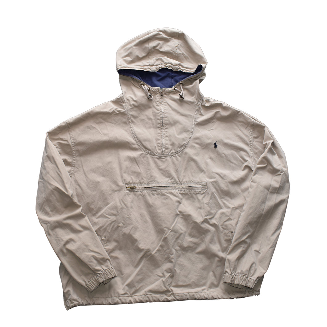Vintage Polo Pullover Anorak Jacket