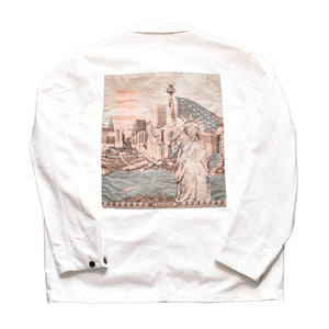 Supreme New York Statue Of Liberty Twin Towers Chore jacket