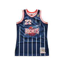 Load image into Gallery viewer, Clyde Drexler Houston Rockets Mitchell & Ness Jersey