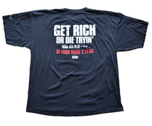 Load image into Gallery viewer, Vintage 50 Cent Get Rich Or Die Tryin 2003 Movie Promo T Shirt