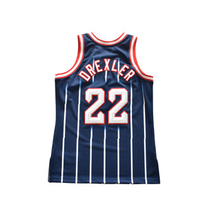 Clyde Drexler Houston Rockets Mitchell & Ness Jersey