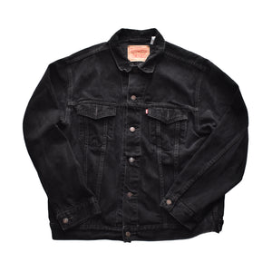 Vintage Levis Black Denim Jacket