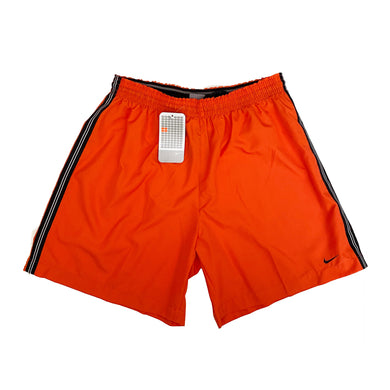 Vintage Nike Polyester Shorts (Orange)