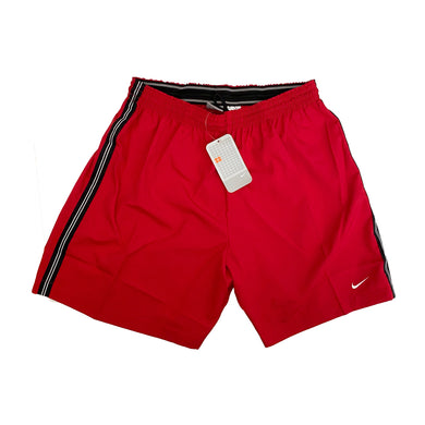 Vintage Nike Polyester Shorts (Red)