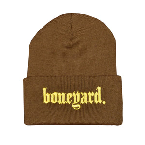 Boneyard OE Beanie (Brown)