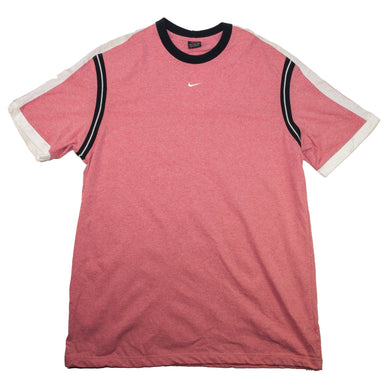 Vintage Nike Mini Swoosh Peach T Shirt
