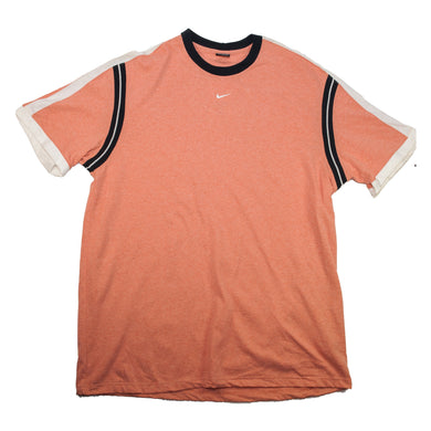 Vintage Nike Mini Swoosh Orange T Shirt