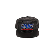Load image into Gallery viewer, Vintage New York Giants Leather Scrip Strapback