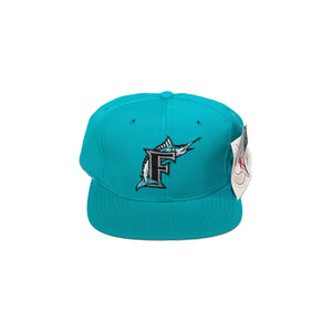 Vintages Florida Marlins Plain Logo Snapback