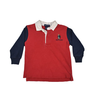 Vintage Polo Bear Rugby Shirt