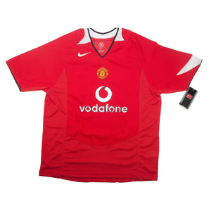 Vintage Nike Manchester Utd Red Jersey