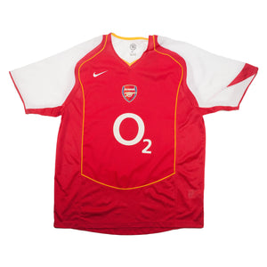 Vintage Nike Arsenal Red Jersey