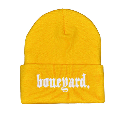 Boneyard OE Beanie (Yellow)