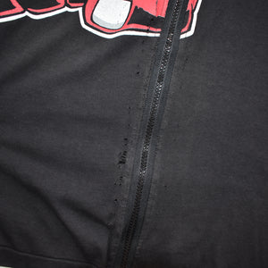 Vintage Chicago Bulls Zip Up T Shirt