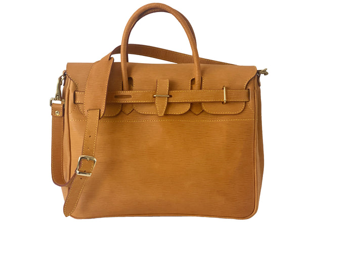 Unica Leather Satchel