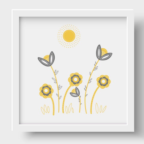 Good Morning Sunshine Nursery Print 2