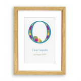 Bright as a Button Personalised Prints