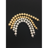 Beads, Decorative Beads, Gold Finish, Silver Plated, Brushed, E-coated Beads | Purity Beads