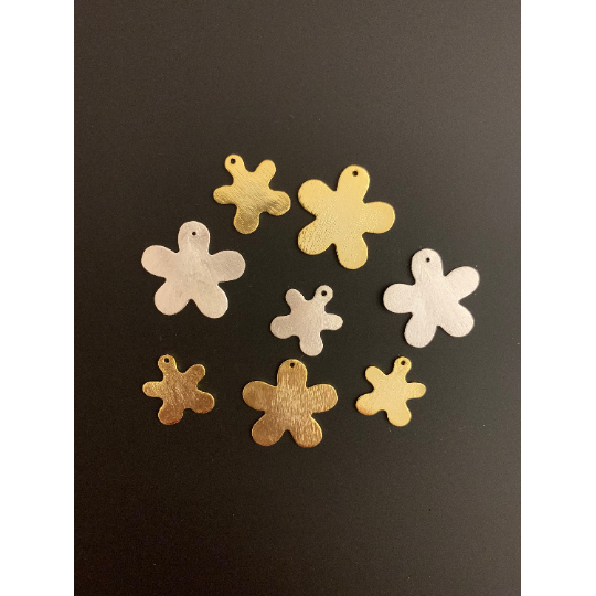 Clover Shaped Findings (Gold Plated/Silver Plated) | Purity Beads