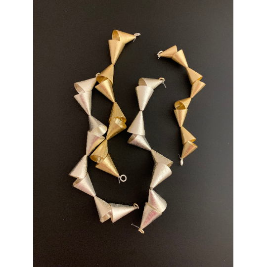 Cones Findings (Gold Finished/Silver Plated) | Purity Beads