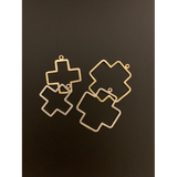 Cross (Gold Plated/Silver Plated) | Purity Beads