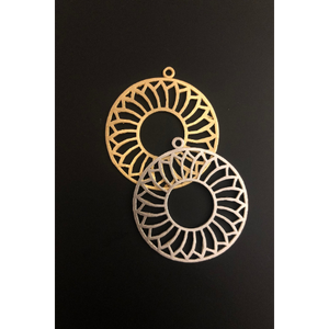 Decorative Pendant (Gold Plated/Silver Plated) | Purity Beads