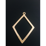 Diamond Shape Pendant (Gold Finished/Silver Plated) | Purity Beads